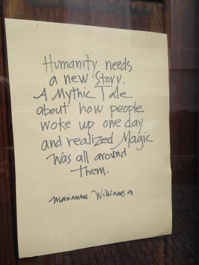 humanity needs a new story