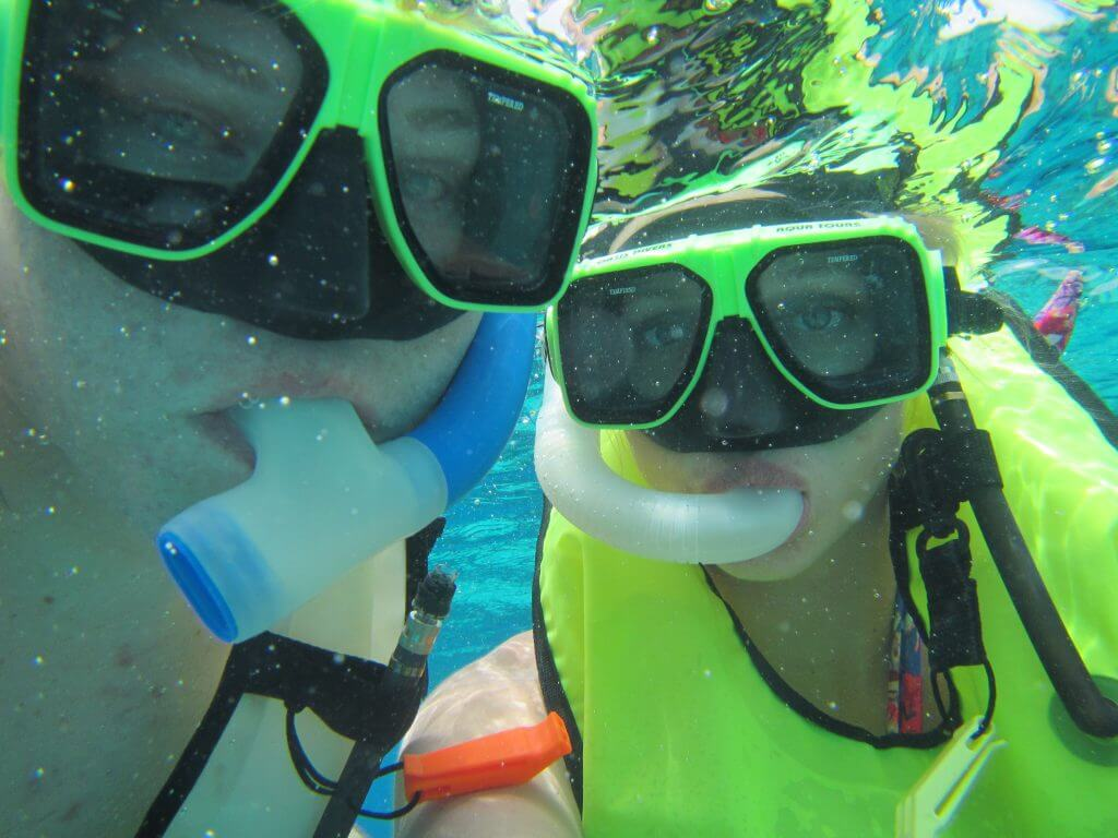 snorkeling adventure from cruise