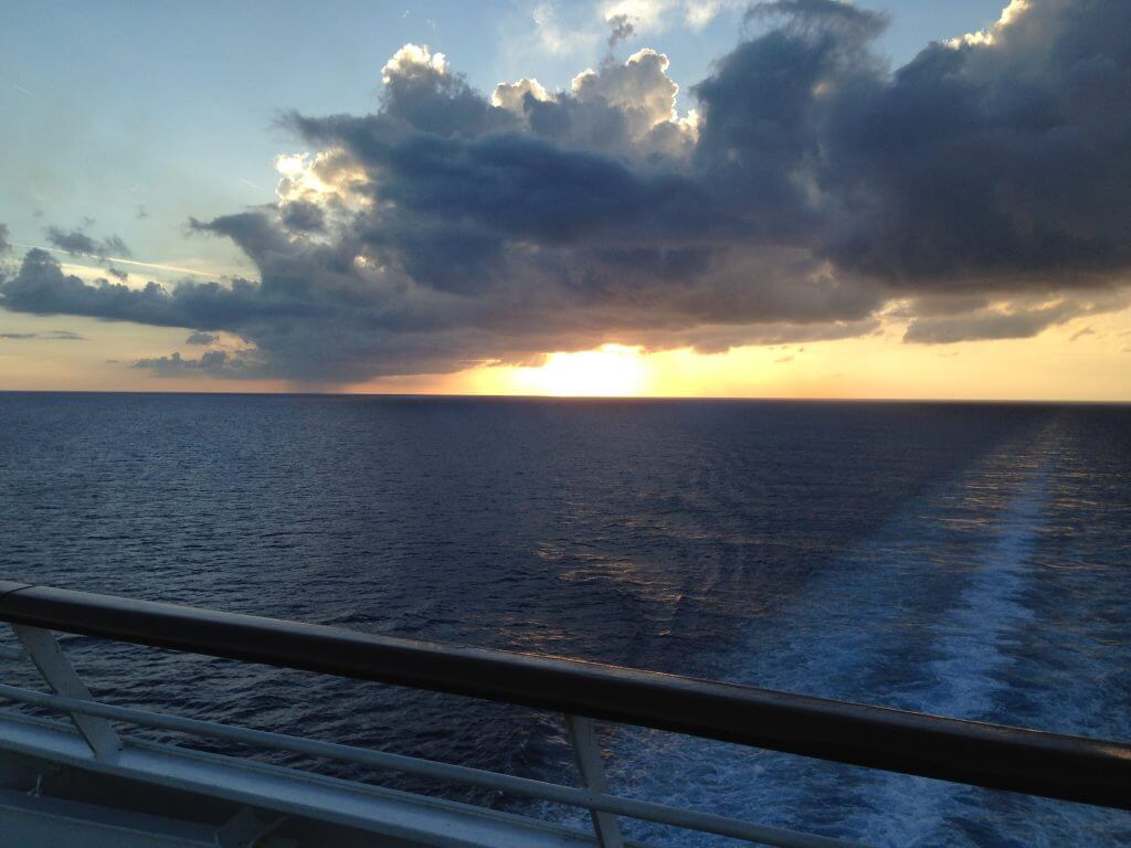 beautiful views from the cruise ship