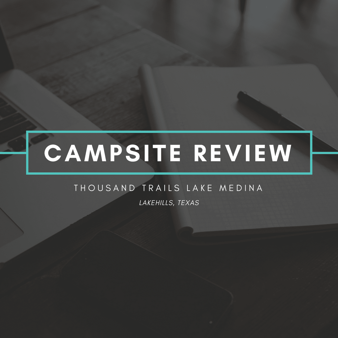 Campsite Review - TT Lake Medina - Featured