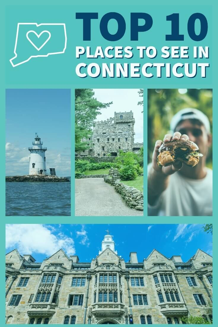 Connecticut may be a small state in New England but surely a fascinating one. Don't miss these must-see locations! #connecticut #roadtrip #ct #rvlife #rvliving #rv #getawaycouple