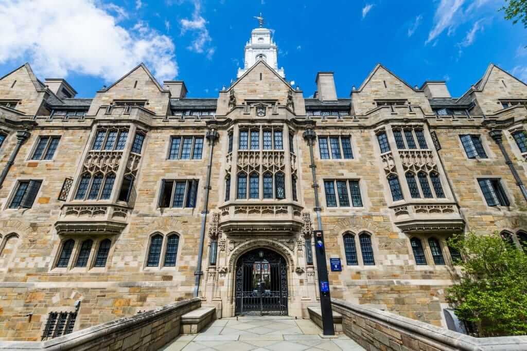 Yale University in New Haven Connecticut