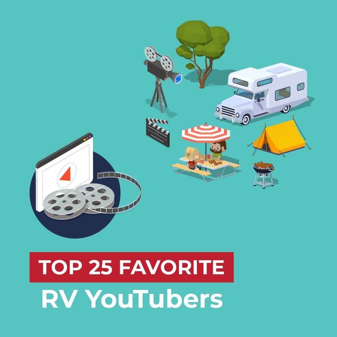 Top 25 Favorite RV YouTubers