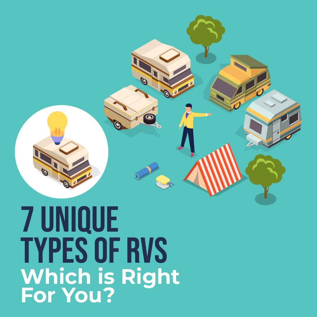 7 Unique Types of RVs