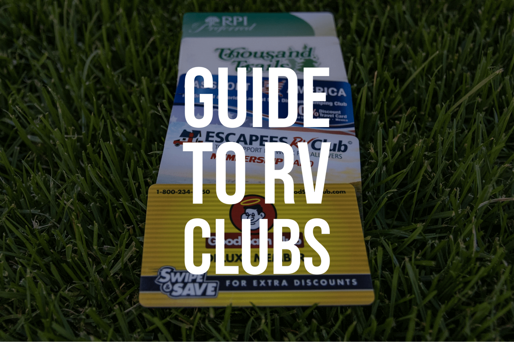 Guide to RV Clubs
