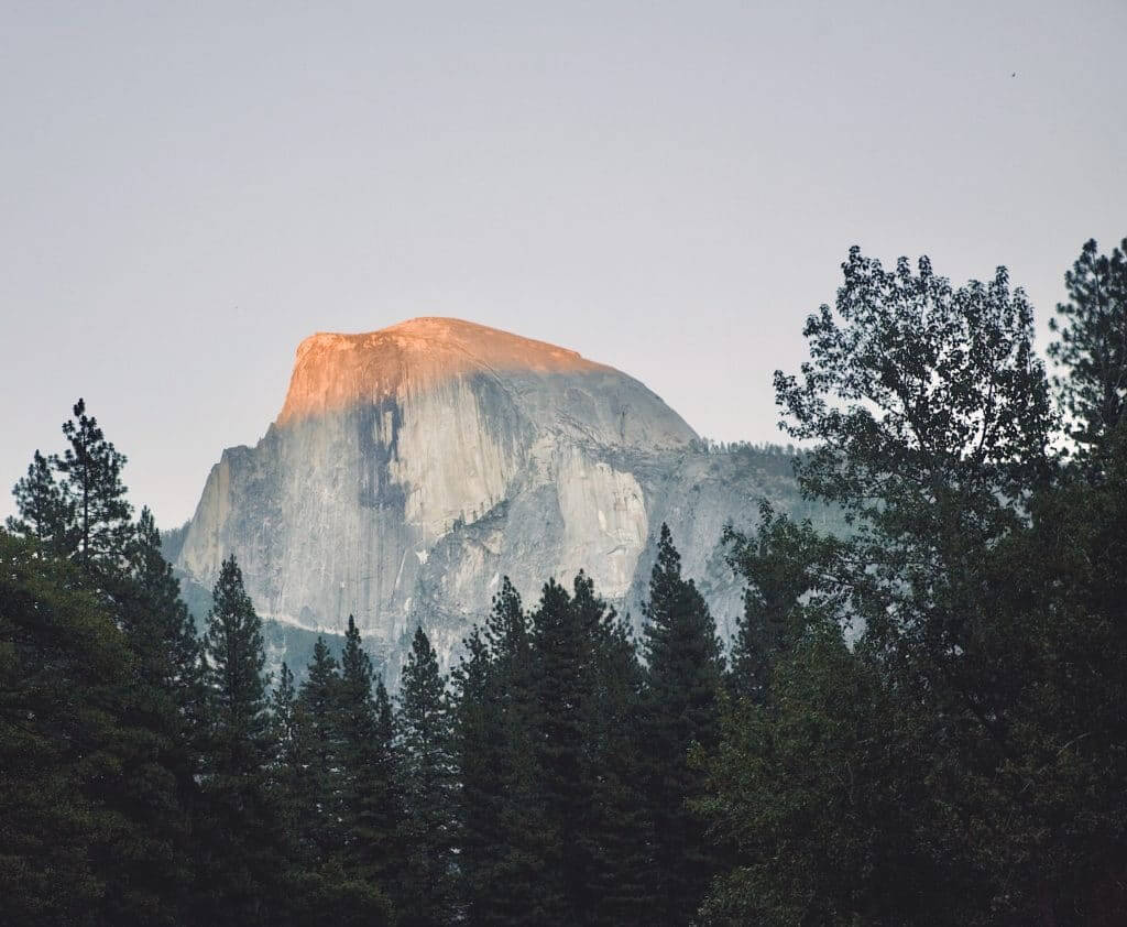 Half Dome is a fun thing to do at Yosemite National Park