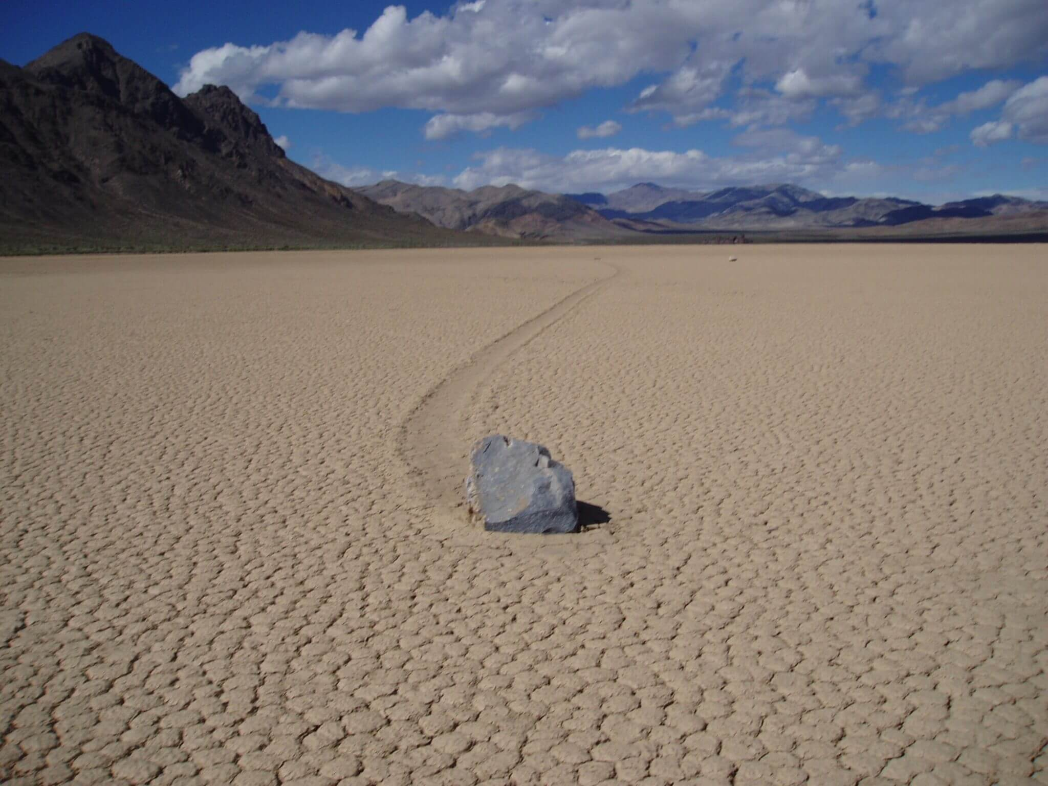 Devils Racetrack in Death Valley National Park
