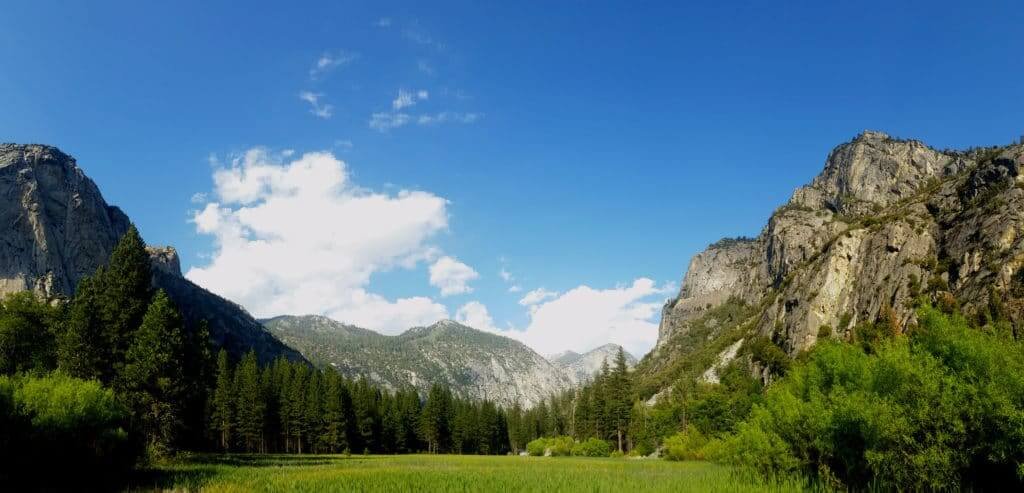 Camping in Kings Canyon National Park