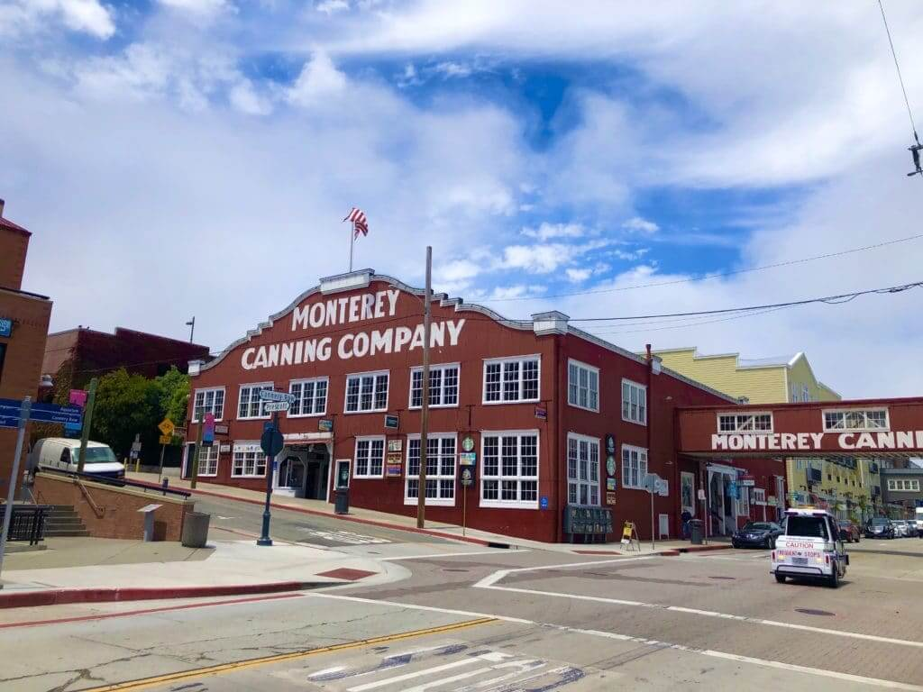 Cannery Row is a converted sardine canning factory.