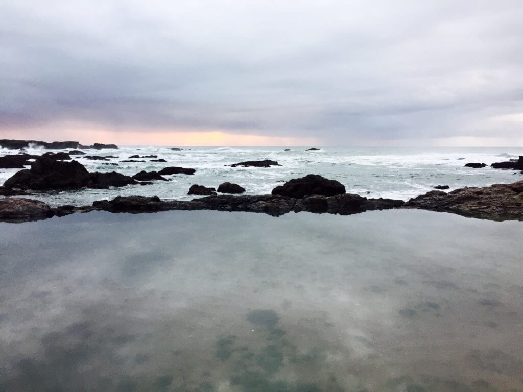 Explore the tidal pools outside of Fort Bragg