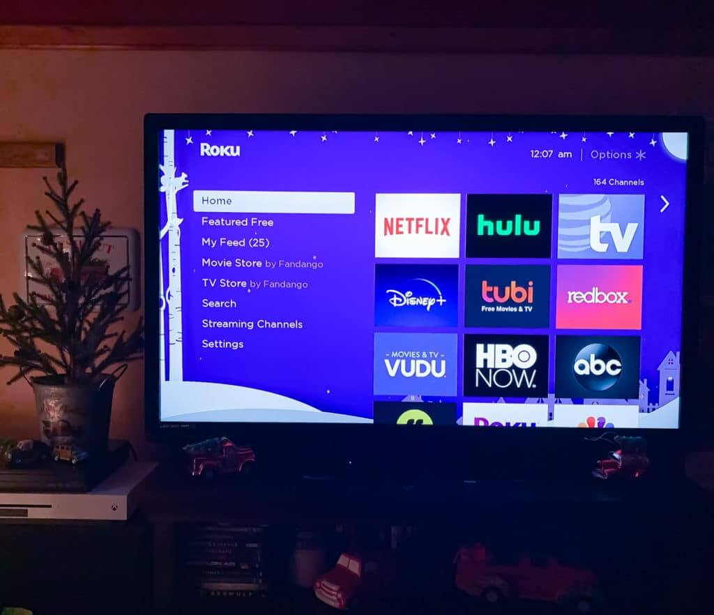 TV streaming with ROKU for the RV