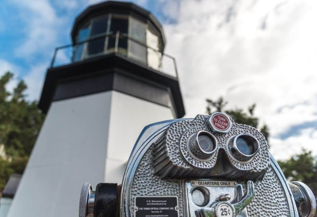 Cape Mears Lighthouse located near the Thousand Trails Pacific City