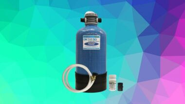 The best rv water softner