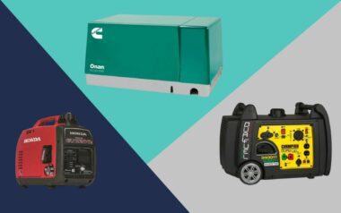 Which Size generator of the three shown do you need for your RV