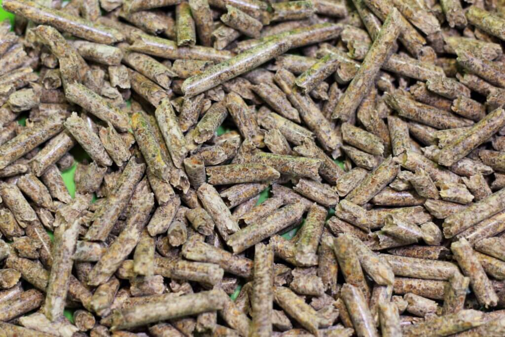 Dehydrated wooden pellets that are for a composting toilet for RV.