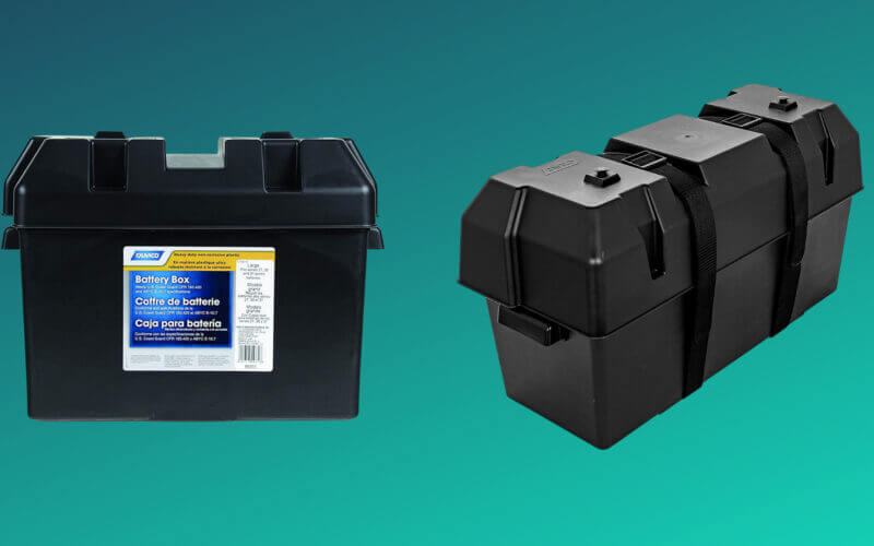 The best RV Battery boxes