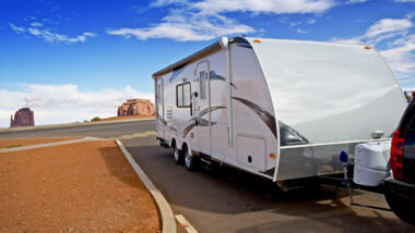 It's a lot easier and safer backing up your large RV when you have a Furrion RV Backup Camera.