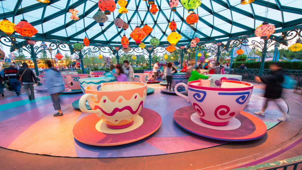 Plan your RV trip to Disney World and be sure to ride the teacups.