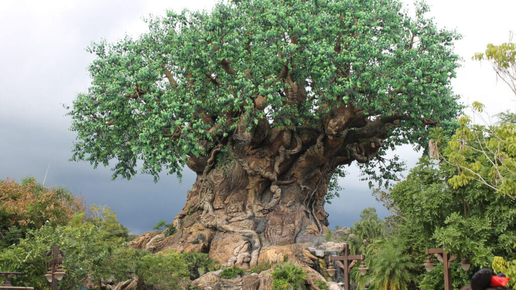 This famous tree can be seen in person when you take your RV trip to Disney World!