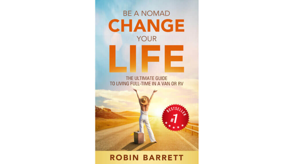 Be A Nomad Change Your Life RV book cover