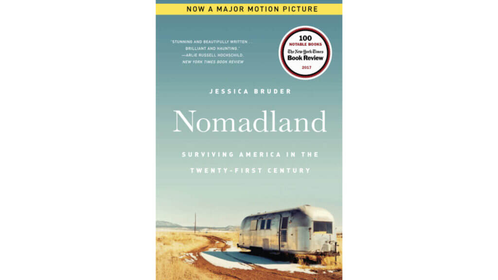 Nomadland: Surviving America in the Twenty-First Century RV book cover