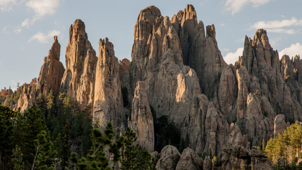Custer State Park is a gorgeous hidden gem in South Dakota that is worth visiting on an RV road trip.