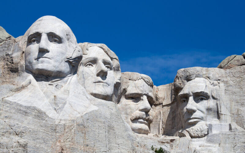 An RV road trip would be incomplete without visiting Mount Rushmore.