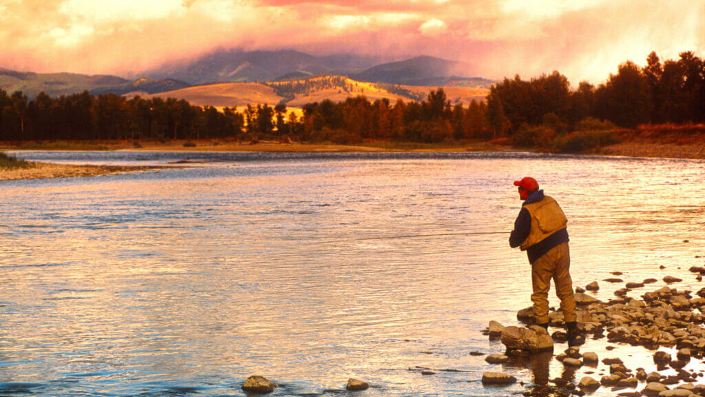 Montana is known for having some of the best Fly Fishing in the country, a must do activity on your RV trip!