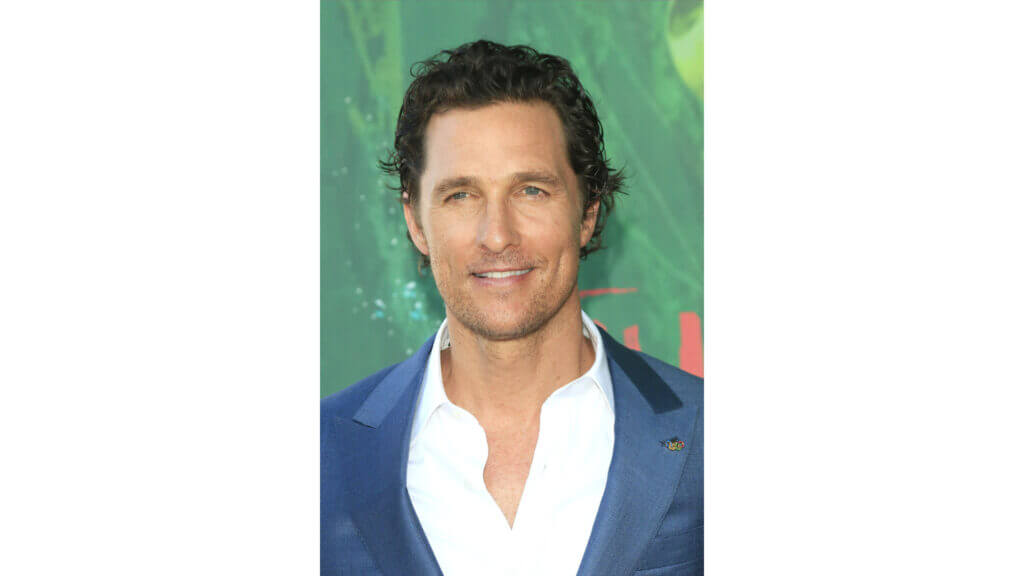 Matthew McConaghey looks sharp on the red carpet and enjoys luxury on the road in his RV.