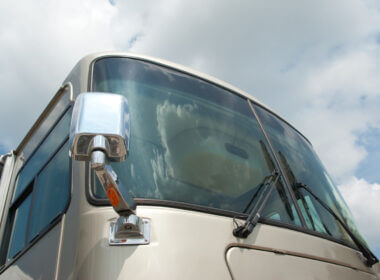 A large RV is the choice of most celebrity RV ers who can take their life on the road in style.
