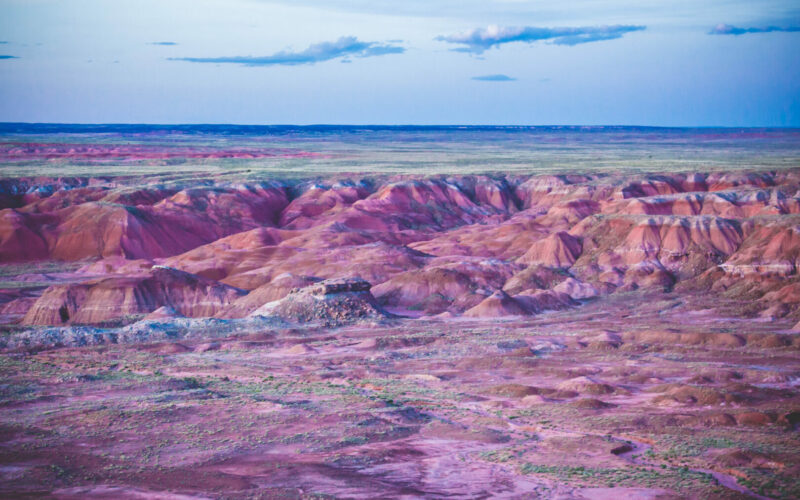 Petrified Forest National Park.