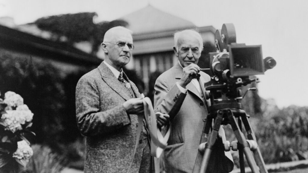 The George Eastman museum in Rochester celebrates the inventor of Kodak Film.