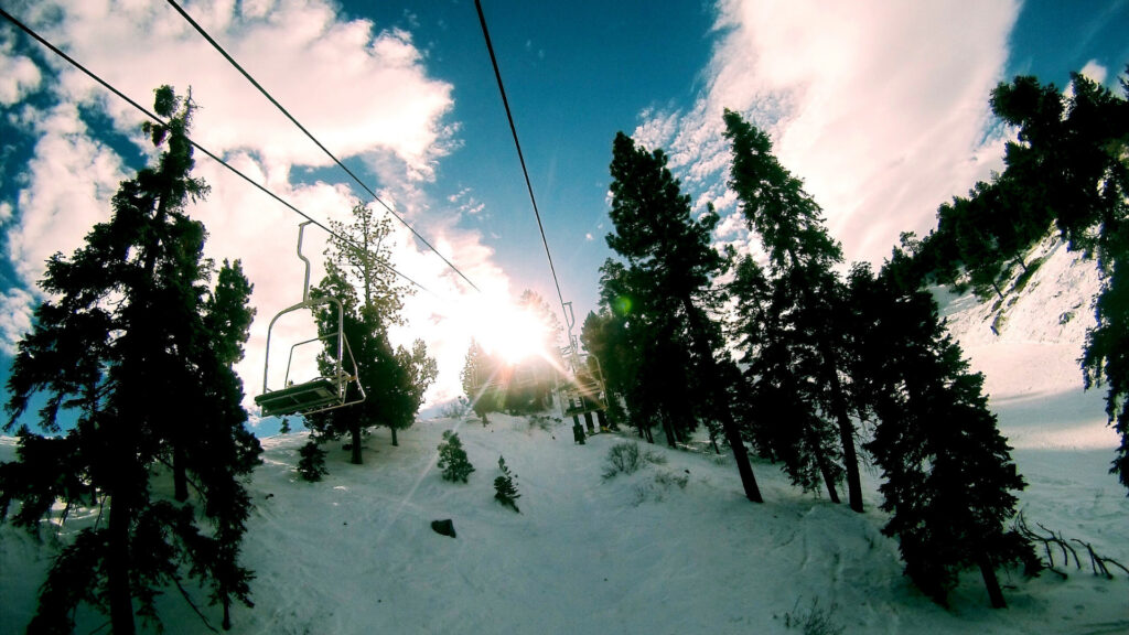 Big Bear Mountain ski resort is a winter destination for SoCal ski and snowboard enthusiasts.