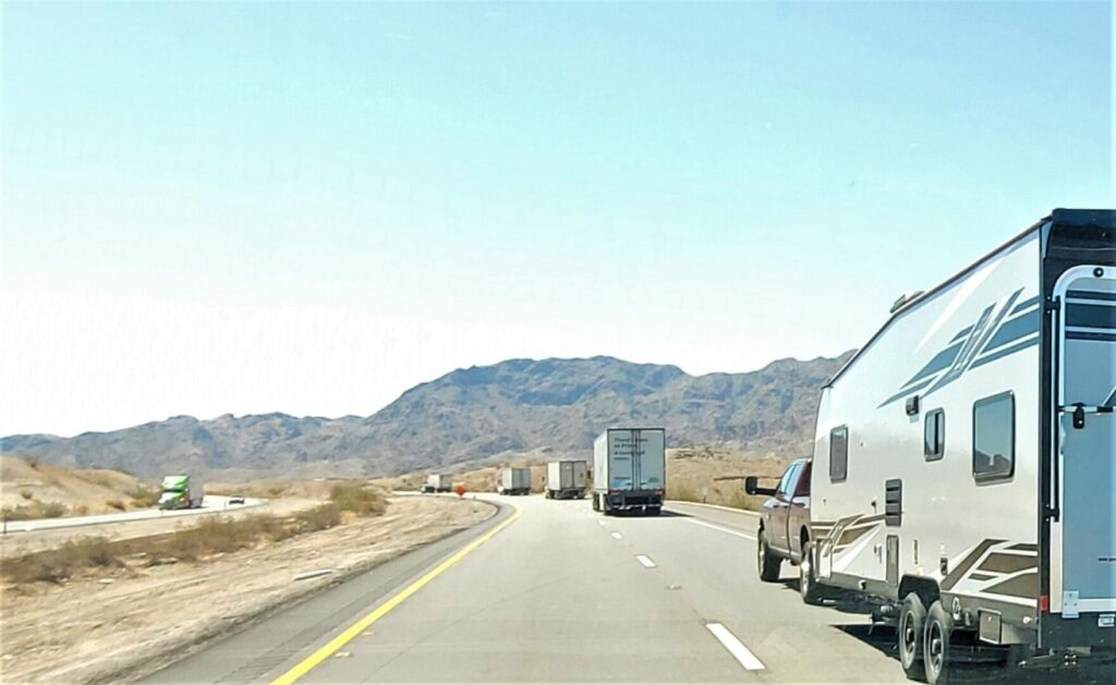 A regret for many fifth wheel toy hauler owners is how large their RV is and how much gas it guzzles traveling down the highway.