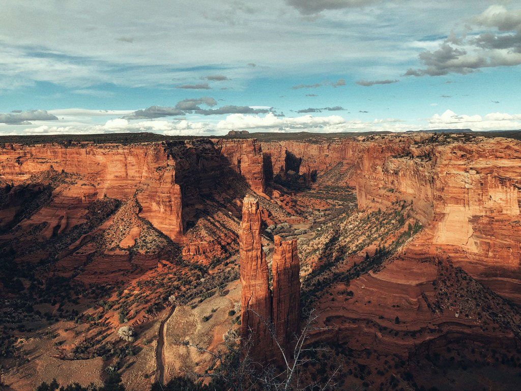 Canyon de Chelly National Monument in Arizona