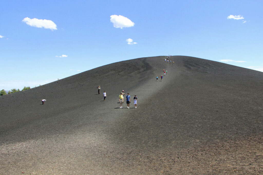 Craters of the Moon National Monument in southern Idaho.