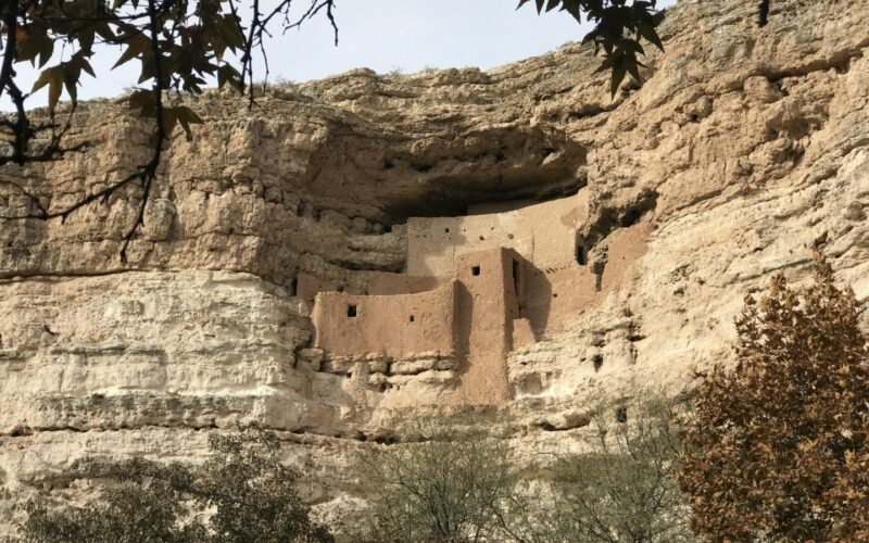 Montezuma's castle national monument is a cliff dwelling village worth visiting.